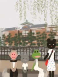 東海館で記念撮影(1).jpg