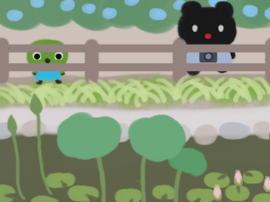 池に蓮と睡蓮(1).jpg