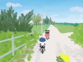 荒川サイクリングロードを(1).jpg