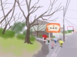 道明寺天満宮 駐車場へ(1).jpg