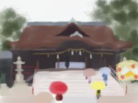 道明寺天満宮拝殿(1).jpg