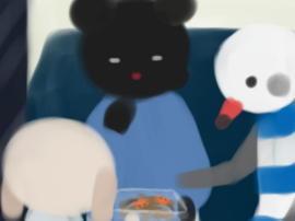 鹿島線で夜おやつ(1).jpg